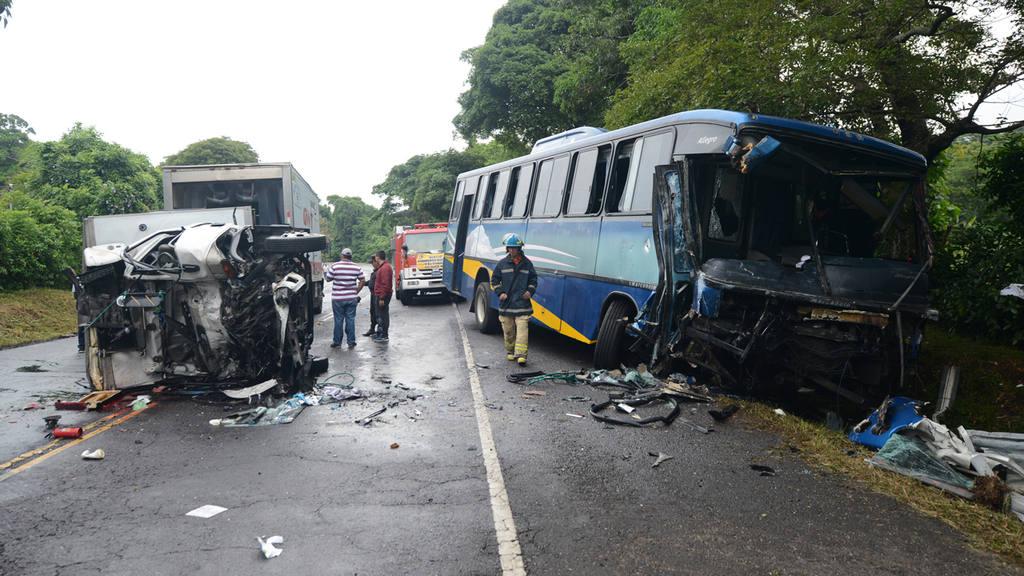 A diario registran 60 accidentes de tránsito en el país.