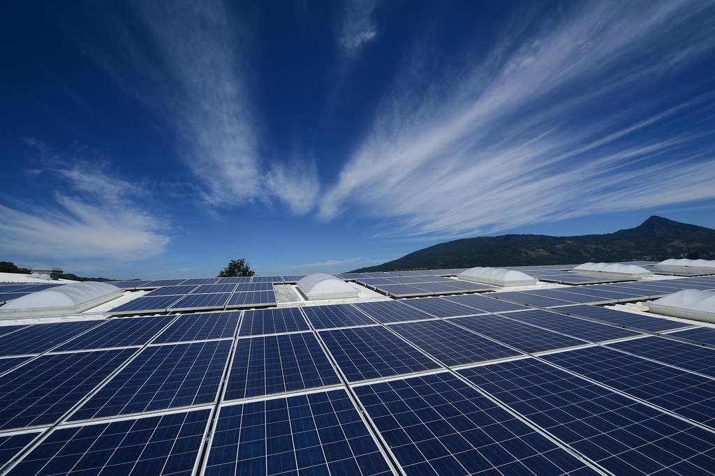 Planta energía solar