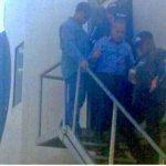 El líder opositor Manuel Rosales fue detenido por gentes del Servicio Bolivariano de Inteligencia Nacional (Sebin), al arribar al aeropuerto internacional La Chinita.