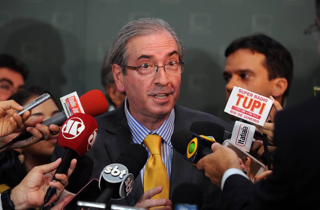El presidente de la Cámara de Diputados de Brasil, Eduardo Cunha.