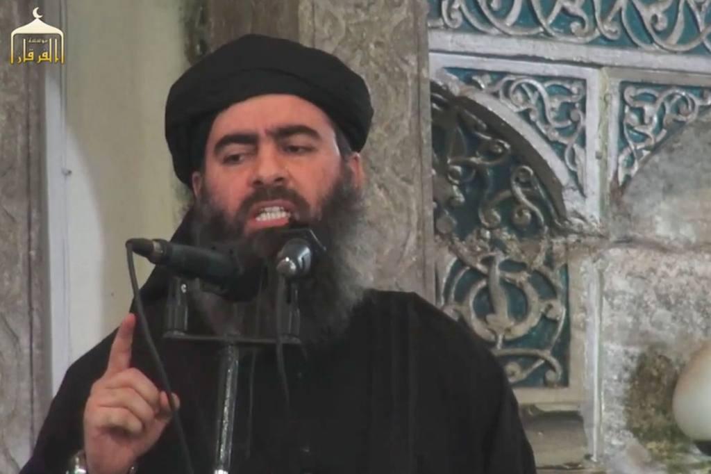 El cabecilla del grupo yihadista Estado Islámico (EI), Abu Bakr al Bagdadi.