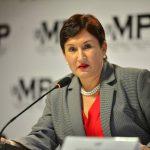 La fiscal general, Thelma Aldana.