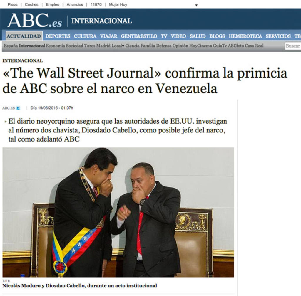 Publicación del diario ABC, de España.