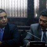 SUPUESTO LÕDER DE TRAMA DE CORRUPCI?N EN GUATEMALA COMPARECE ANTE JUEZ