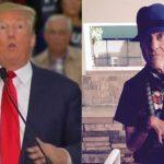 Al la izquierda, el magnate Donald Trump; a la derecha Serge Kovaleski, periodista del New York Times.