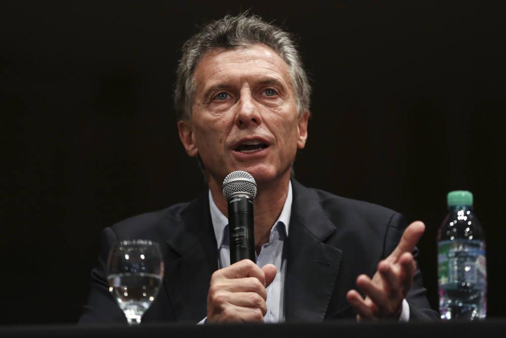 El presidente electo de Argentina por la alianza conservadora Cambiemos Mauricio Macri.