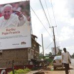 PREPARATIVOS PARA LA VISITA DEL PAPA EN KENIA