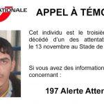 La foto difundida en la cuenta oficial de Twitter de la Policía francesa.
