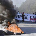 Protesta contra el canal interoceánico