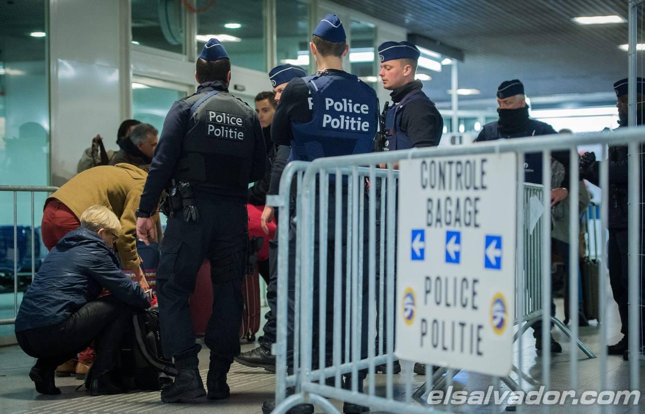 Security raised in Belgium
