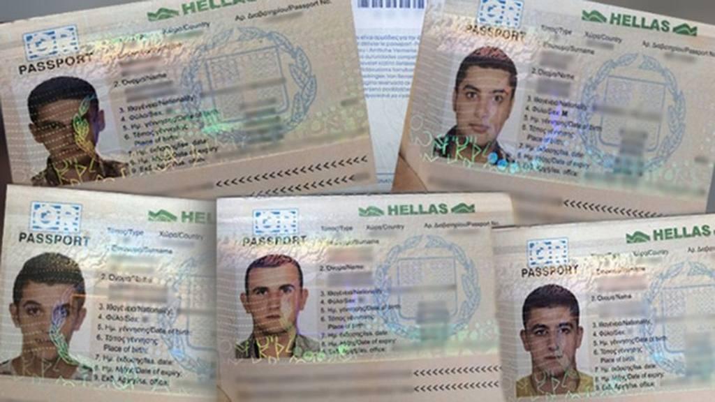 Los pasaportes de los cinco sirios detenidos en Honduras el pasado martes