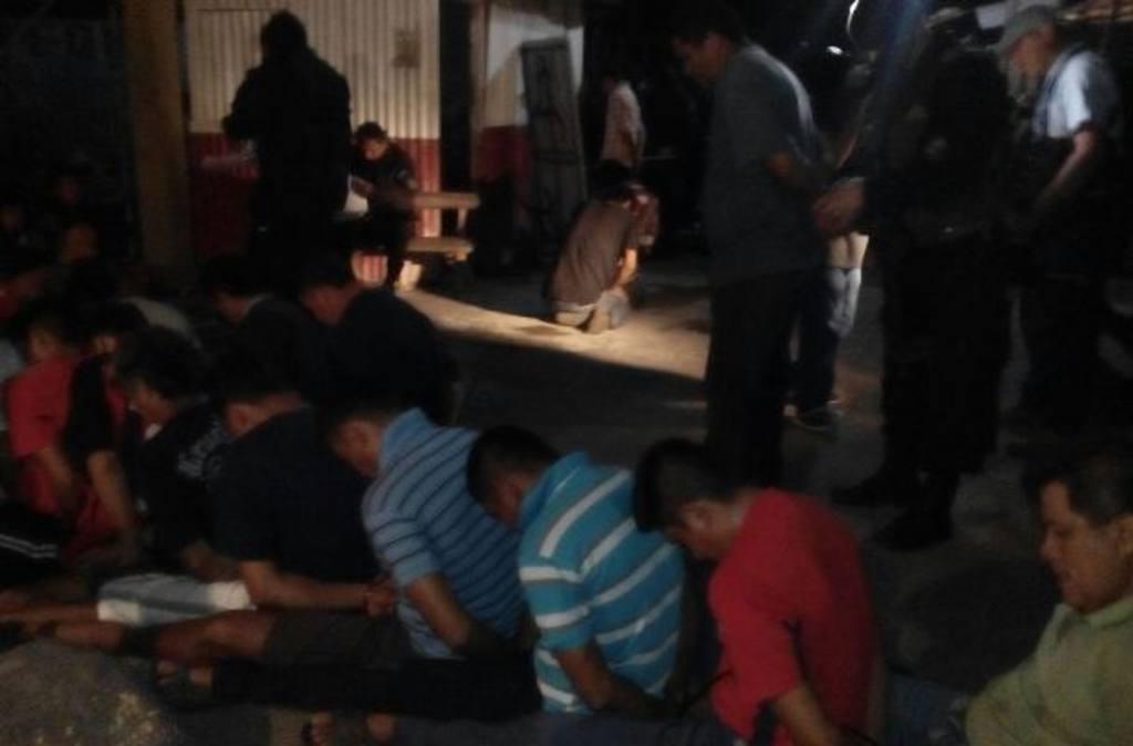 58 sujetos capturados