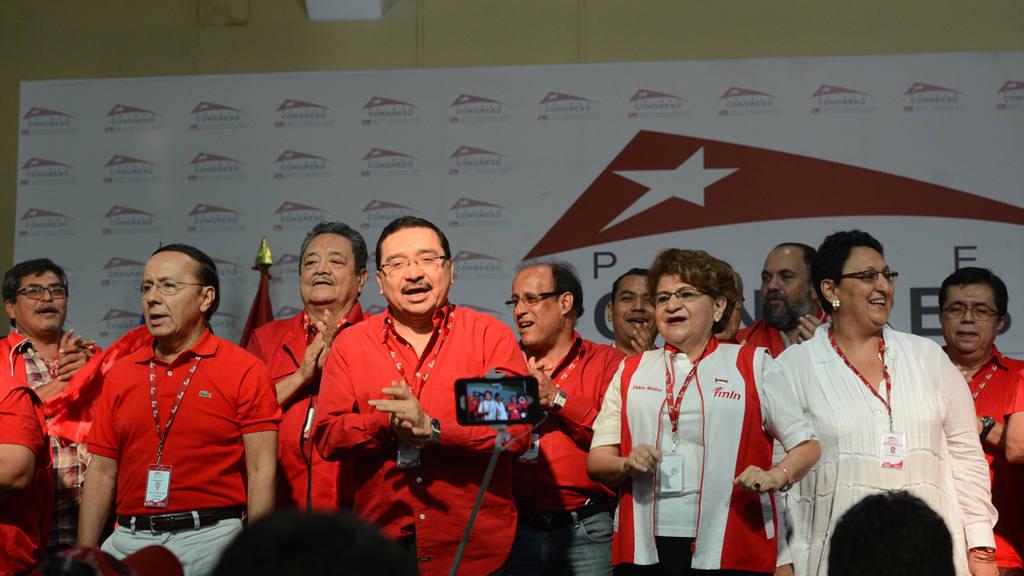Clausura del Primer Congreso Nacional del FMLN