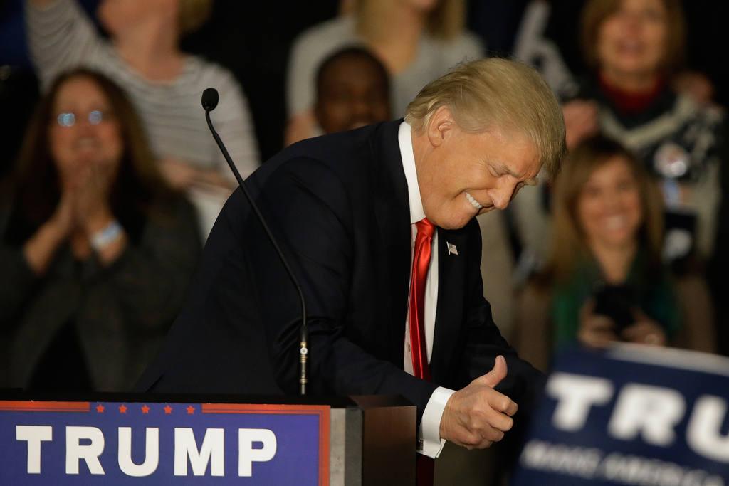 Donald Trump, en Springfield, Illinois.
