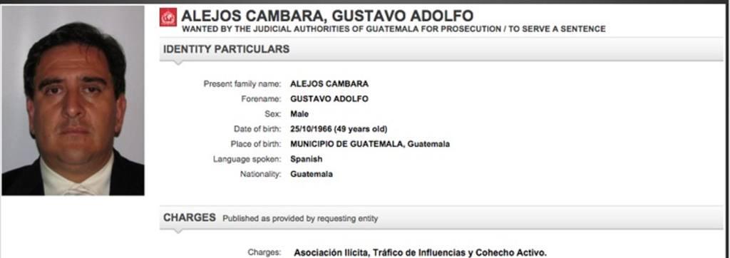 Gustavo Alejos Cámbara