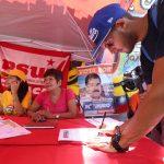 El Partido Socialista Unido de Venezuela y sus 31 partidos aliados, integrados en el Gran Polo Patriótico (GPP), movilizaron ayer a sus electores en un simulacro electoral.