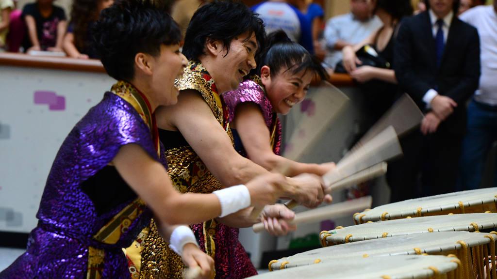 Tambores japoneses