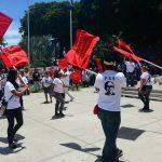 Concentración de grupos del FMLN