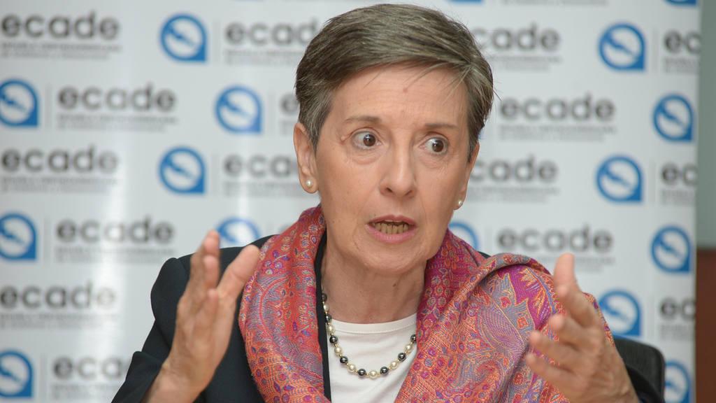Delia Ferreira Rubio, Doctora en derecho y consultora en temas de instituciones y gobierno,