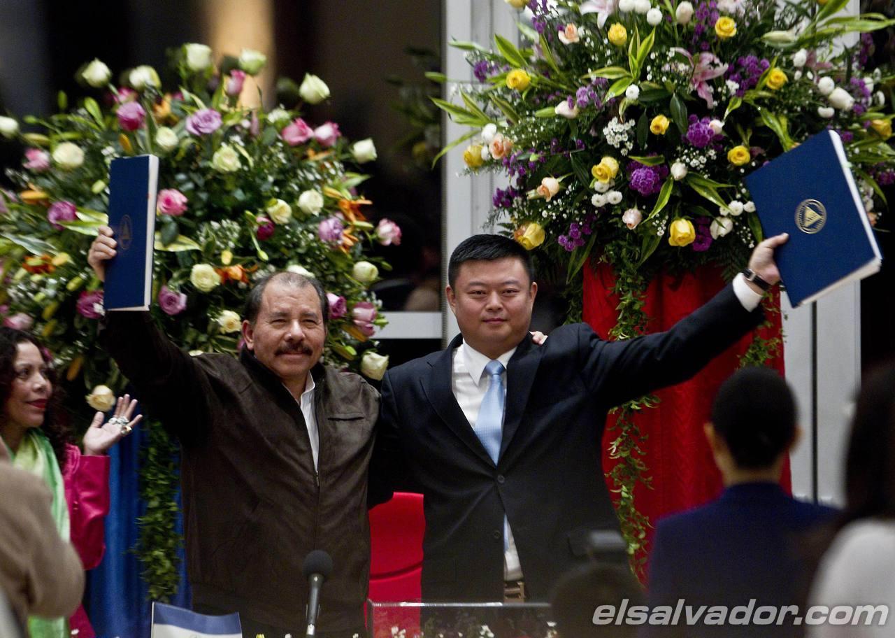 Daniel Ortega, Wang Jing