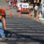 Guatemala continuar· los trabajos sobre el puente El Jobo, en la frontera Las Chinamas, en Ahuachap·n, con lo que pretende mejorar el paso vehicular sobre la infraestructura que data de hace 65 aÒos.