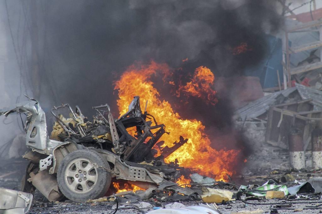 Ataque contra un hotel en Mogadiscio