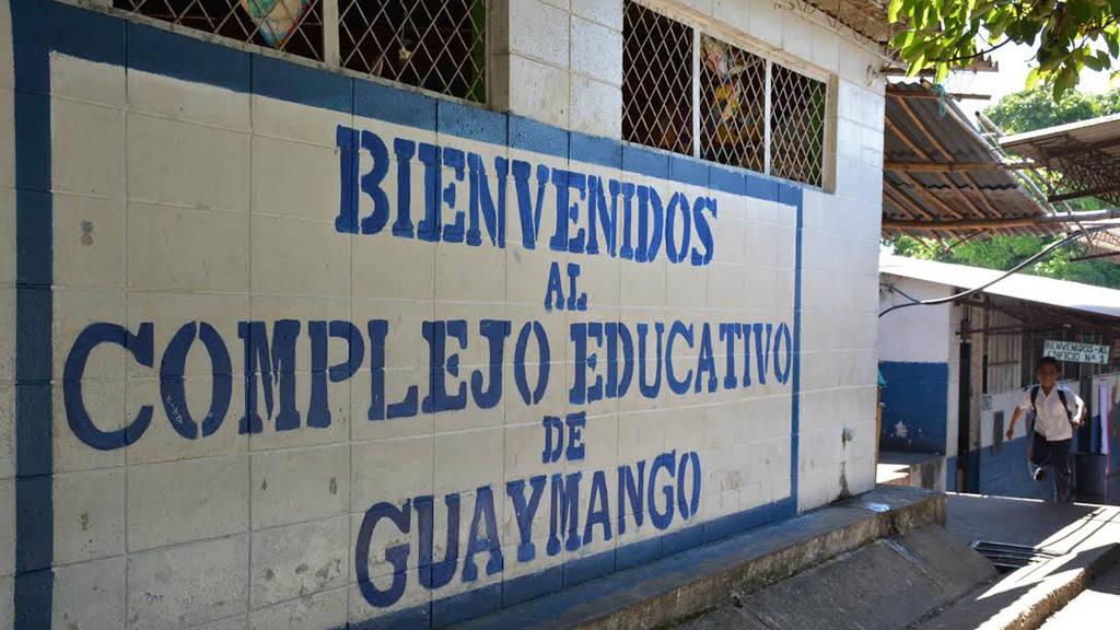 El Complejo Educativo de Guaymango se quedará sin educación media, ya que la comuna construyó un Instituto Nacional.