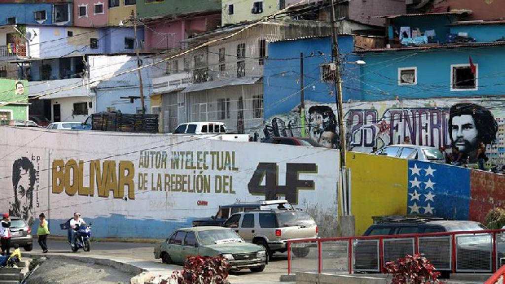 Vista del barrio 23 de Enero.
