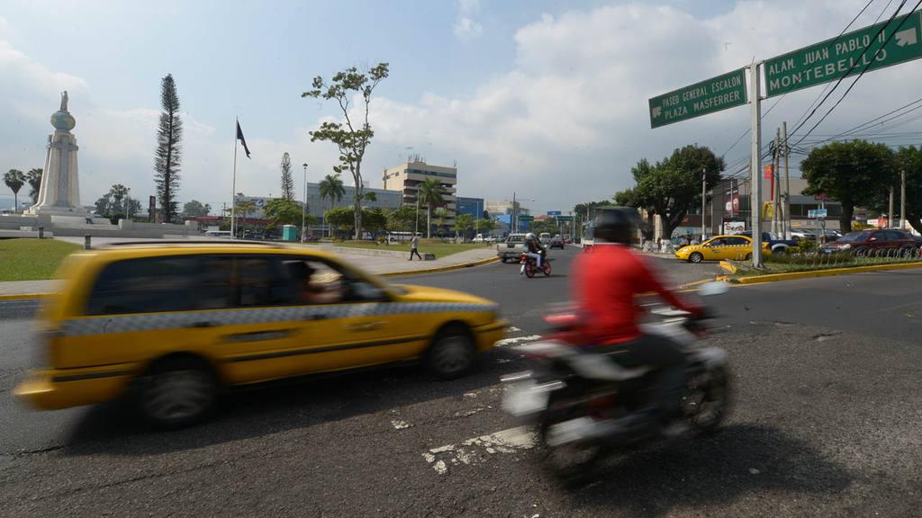 Puntos de robos y asaltos en San Salvador