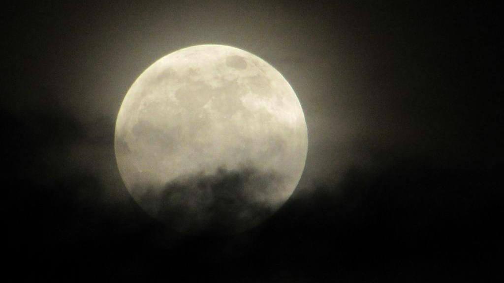 Luna llena esta Navidad