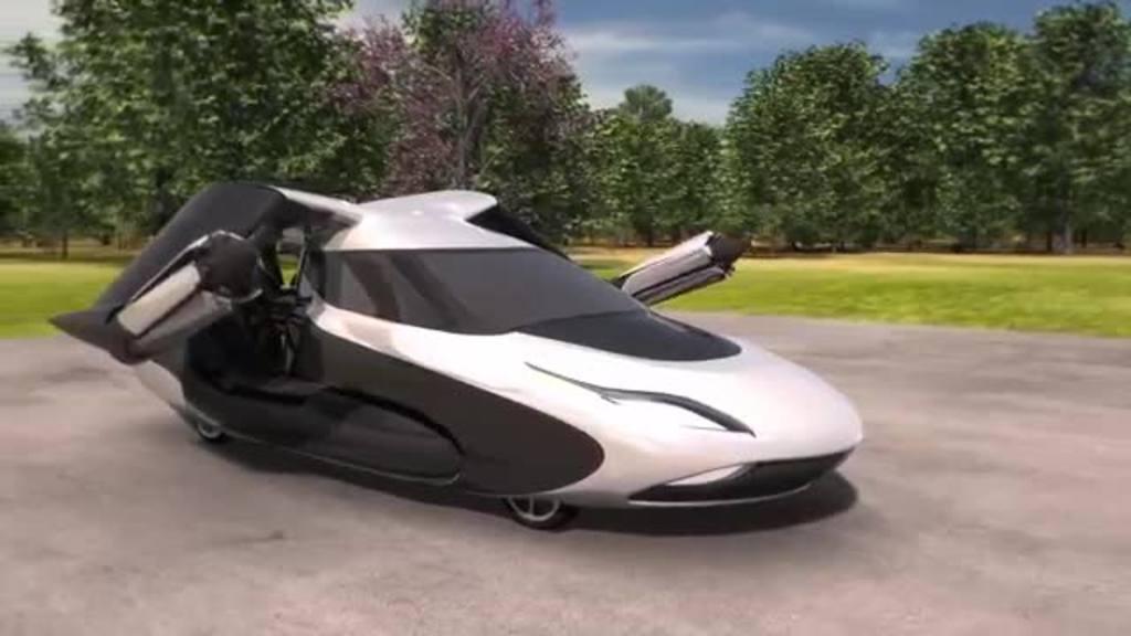 Conoce al auto que vuela, un sueño hecho realidad | elsalvador.com