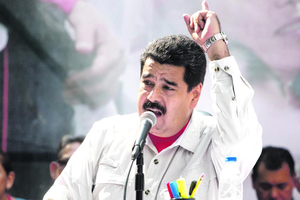 El gobernante de Venezuela, Nicolás Maduro.