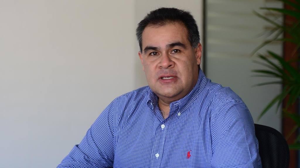 Howard Gutierrez Presidente de la Camara de Comercio de San Miguel.
