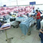 El área de Emergencias del Rosales suele mantenerse saturada de pacientes.