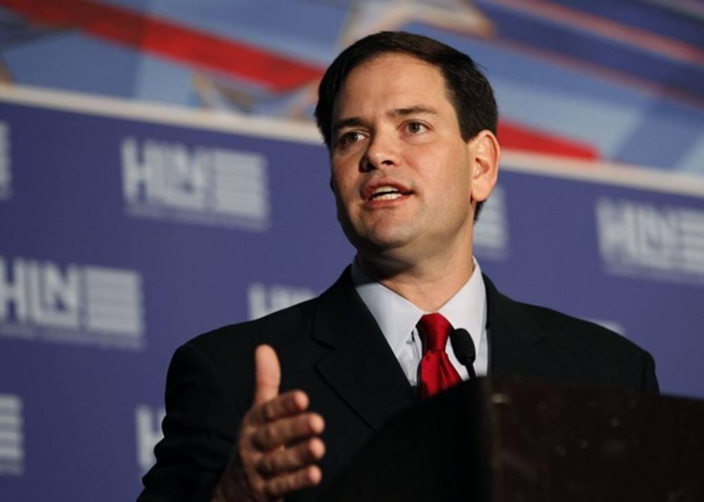 Marco Rubio, el precandidato republicano y senador por el estado Florida.