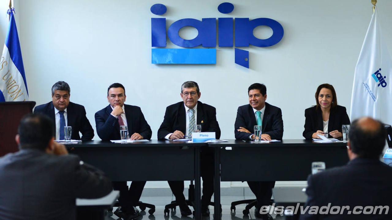 Audiencia IAIP por caso Chaparral