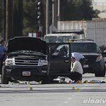 Authorities investigate the scene Thursday, Dec.