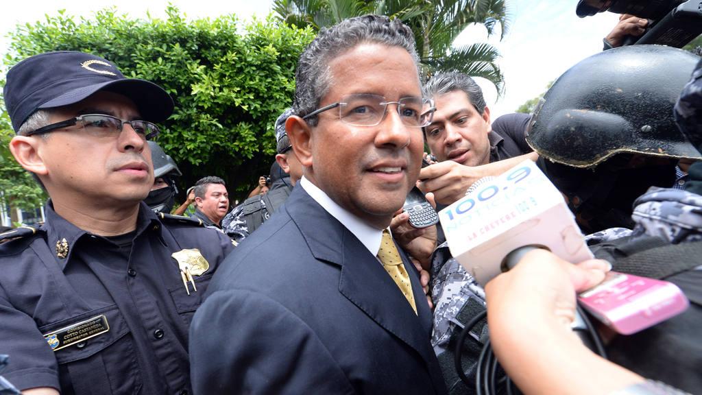 Ex-presidente Francisco Flores .