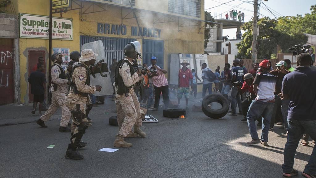 Se recrudece la violencia en las calles de HaitÌ a cinco dÌas de comicios