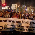 """MILES DE """"INDIGNADOS"""" REITERAN PEDIDO DE QUE CESE LA CORRUPCI?N EN HONDURAS"""