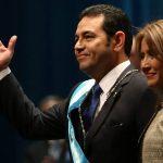 JIMMY MORALES JURA COMO PRESIDENTE DE GUATEMALA