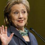 Hillary Clinton, precandidata demócrata.