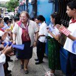 La comuna sonsonateca destaca el aporte de la embajadora a diferentes actividades en el municipio.