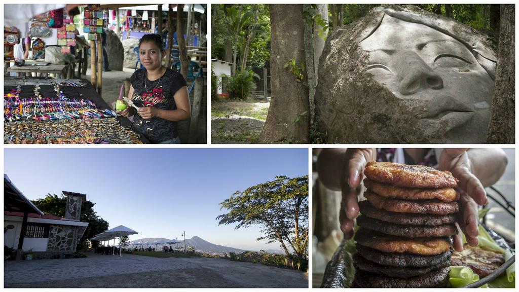 Destinos turísticos al sur de San Salvador