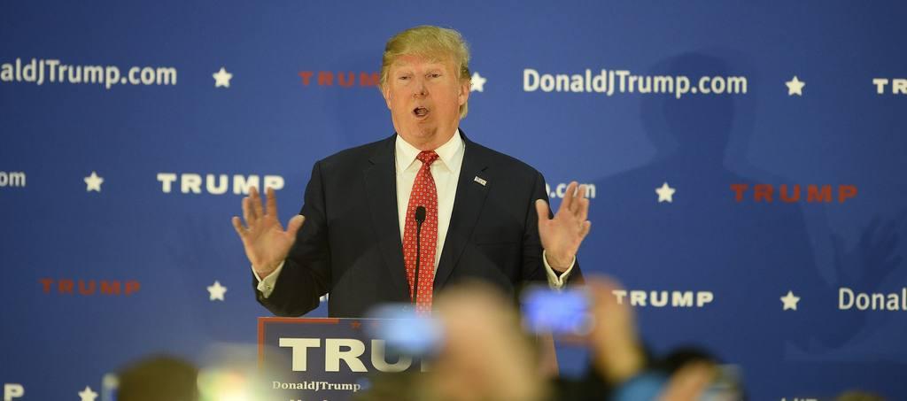 Donald Trump, precandidato republicano a la presidencia de Estados Unidos.