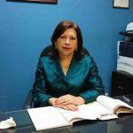 Olinda Morena Vásquez Pérez, jueza del Juzgado 3o. de Familia de San Salvador.