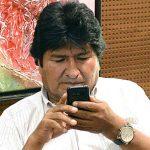 El gobernante boliviano Evo Morales.