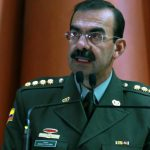 El director de la Policía Nacional, general Rodolfo Palomino.