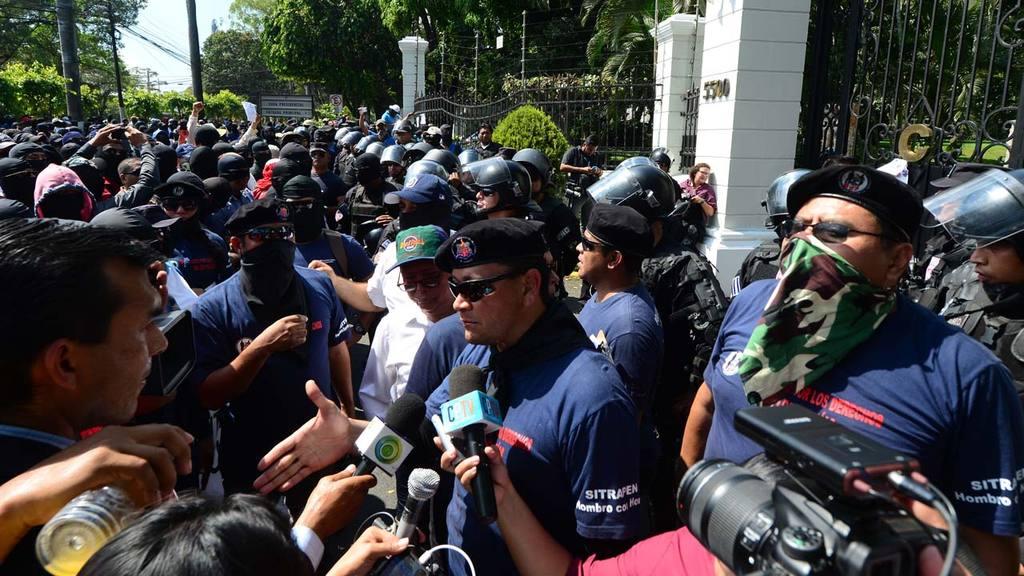 Marcha policías