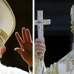El Papa Francisco (izquierda) y el patriarca ortodoxo ruso Kirill.